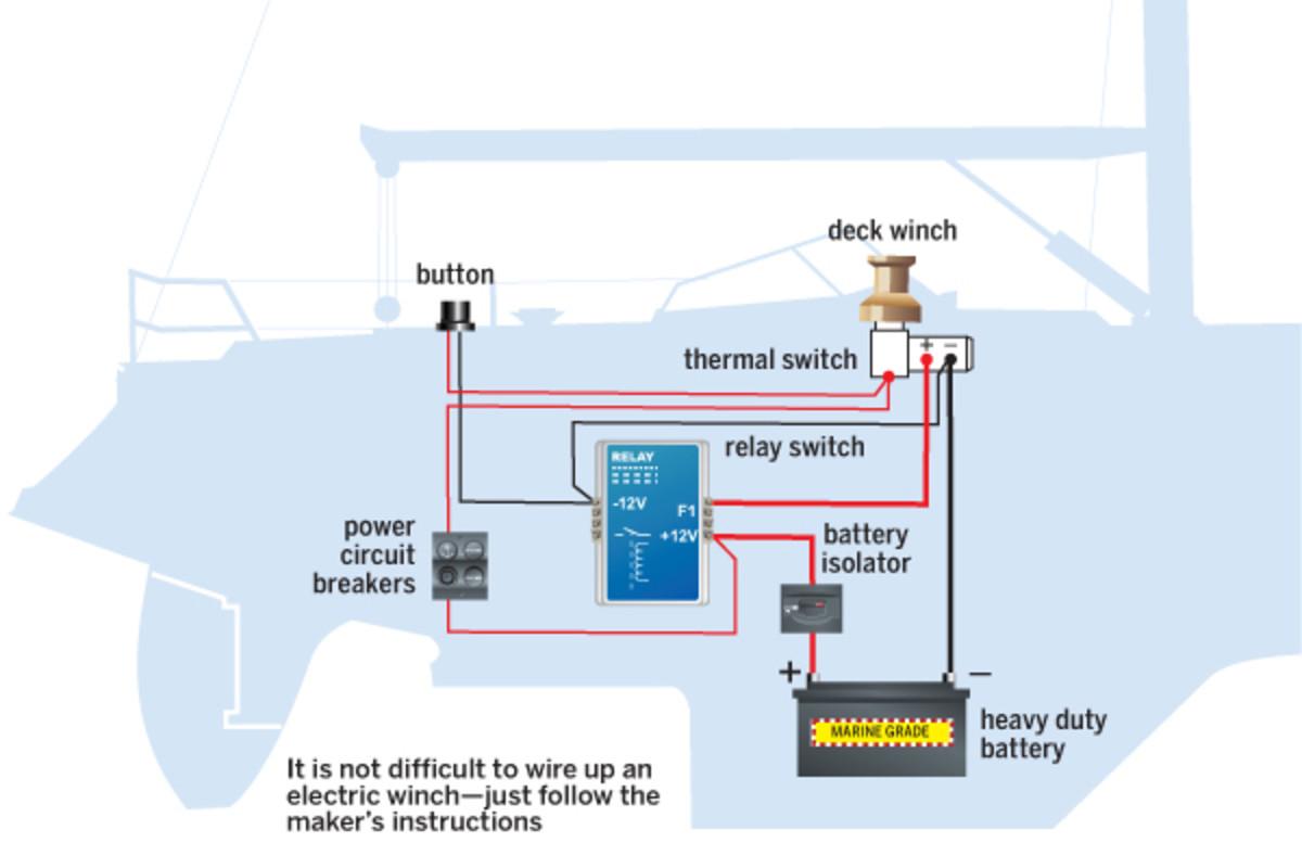 12 volt electric winch wiring diagram bt 4047  powerwinch solenoid wiring diagram powerwinch circuit  powerwinch solenoid wiring diagram