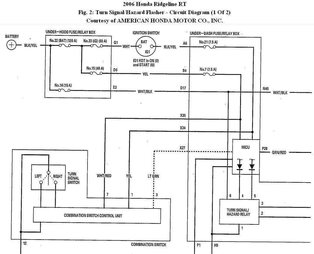 XH_3052] 2006 Honda Ridgeline Fuse Box Diagram Further 2007 Honda Odyssey  Schematic WiringPenghe Isra Mohammedshrine Librar Wiring 101