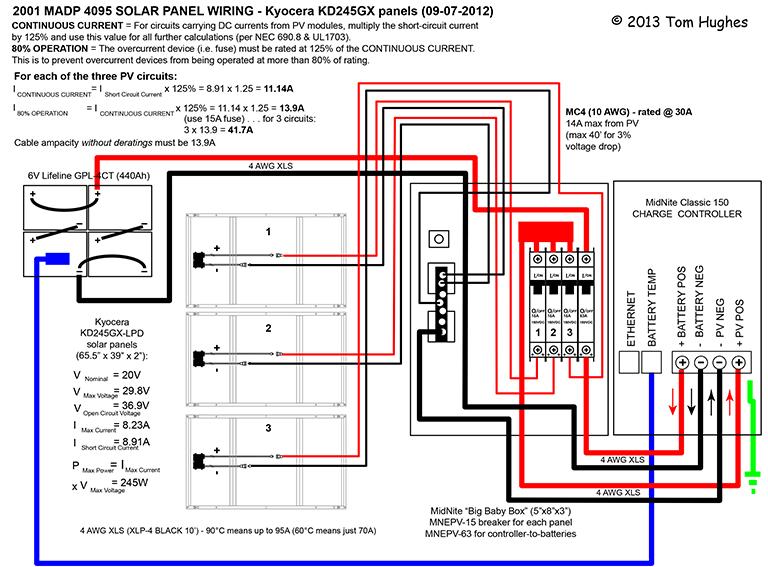 Astonishing Solar Wire Diagram Wiring Diagram Wiring Cloud Licukshollocom