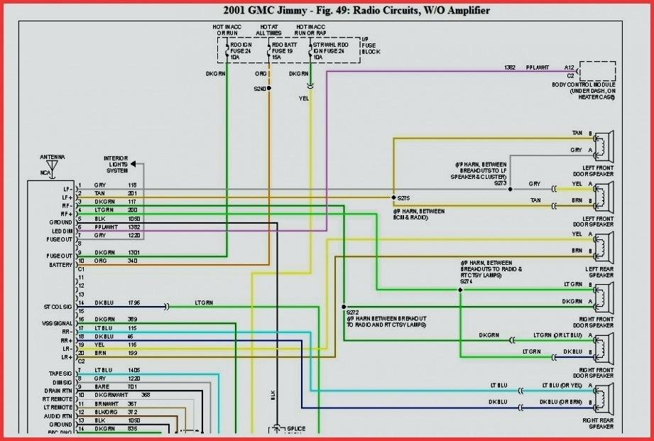 99 Jimmy Radio Wiring Diagram - Wiring Diagram