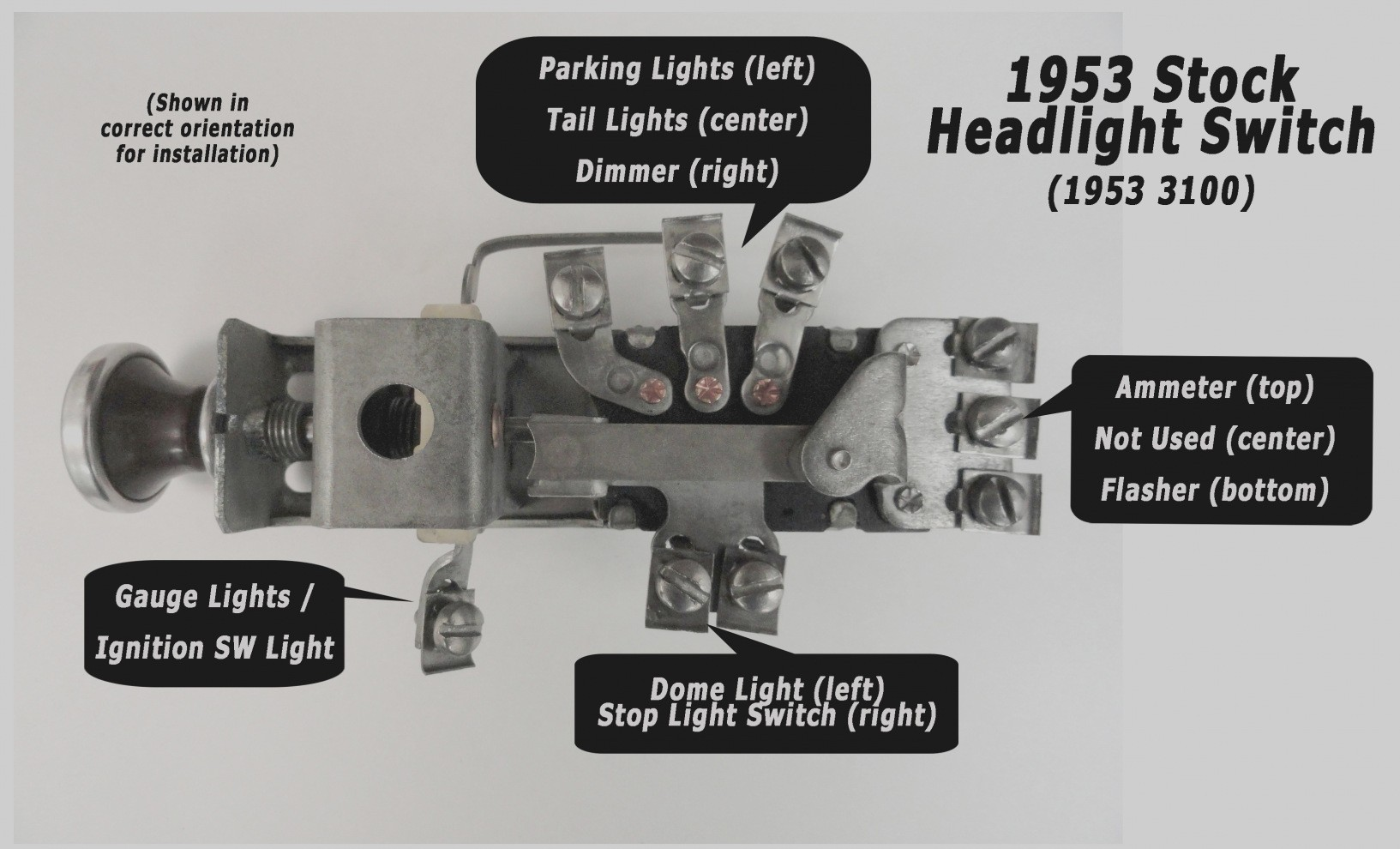 Headlight Switch Wiring Diagram Chevy Truck - Database