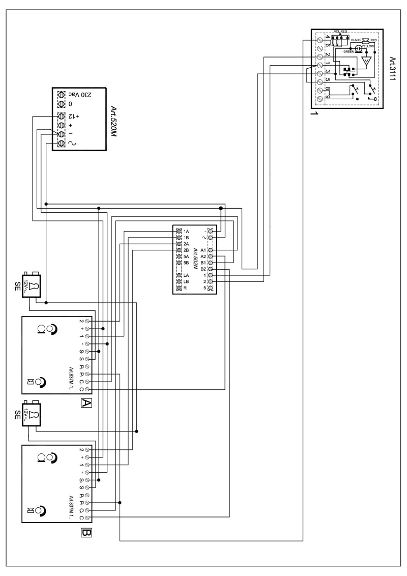 Xg 2286  Videx Smart 1 Wiring Diagram Free Diagram