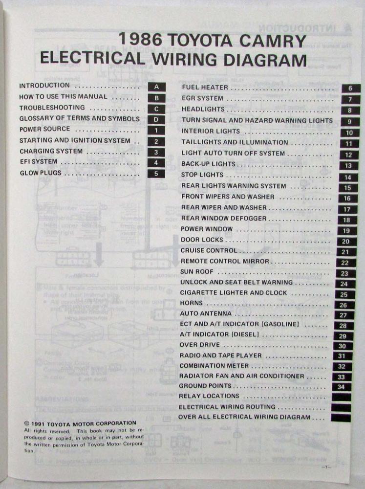 Hb 8858 1986 Camry Wiring Diagram System Wiring Diagram