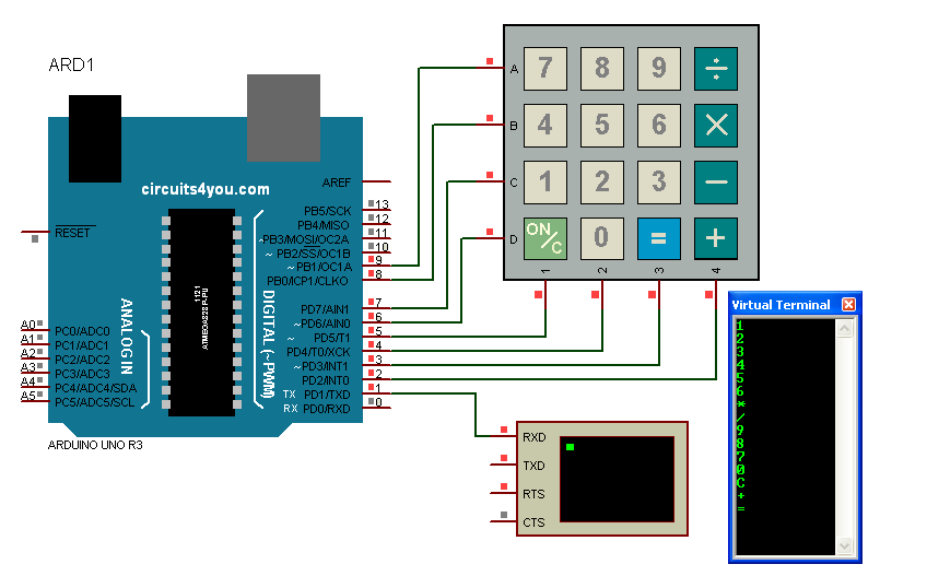 [FPER_4992]  YS_5397] Keyboard Matrix Wiring Diagram Free Diagram | Membrane 1x4 Keypad Wiring Diagram |  | Inrebe Epete Exmet Mohammedshrine Librar Wiring 101