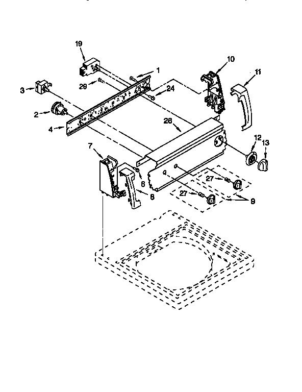 Strange Kenmore Automatic Washer Auto Electrical Wiring Diagram Wiring Cloud Timewinrebemohammedshrineorg
