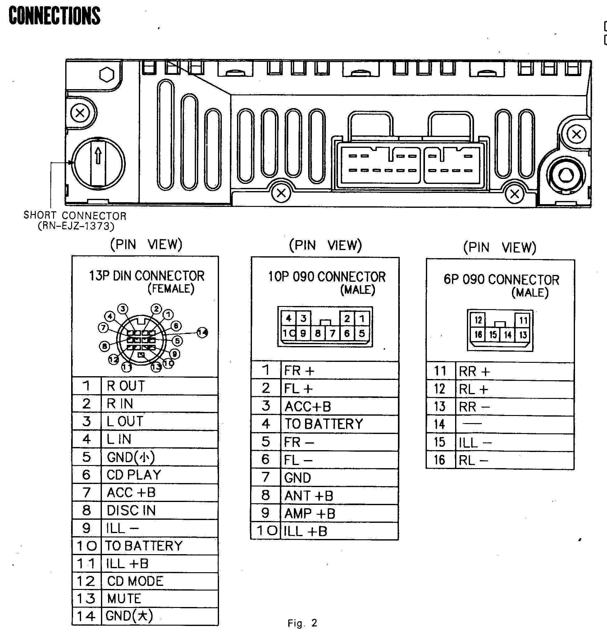 2002 Toyota Tacoma Stereo Wiring Diagram