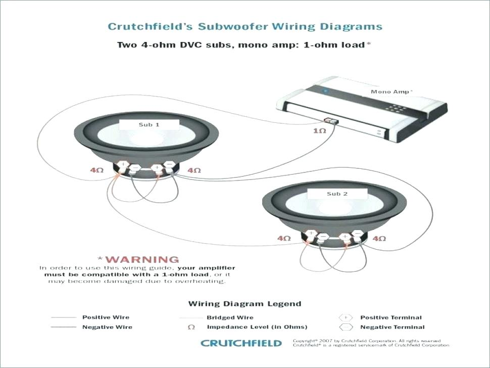 Two 4 Ohm Svc Subwoofer Wiring Diagram - Database