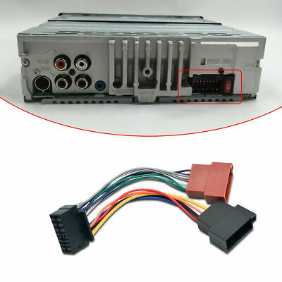 Groovy Sony Car Stereo Radio Wire Wiring Harness Connector Cable Cdx Gt330 Wiring Cloud Rineaidewilluminateatxorg
