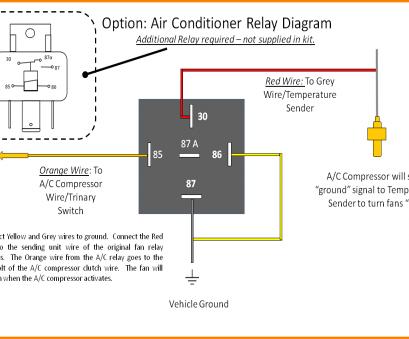 electric fan relay wiring diagram nc 1421  electric fan relay wiring diagram also relay wiring with  electric fan relay wiring diagram also