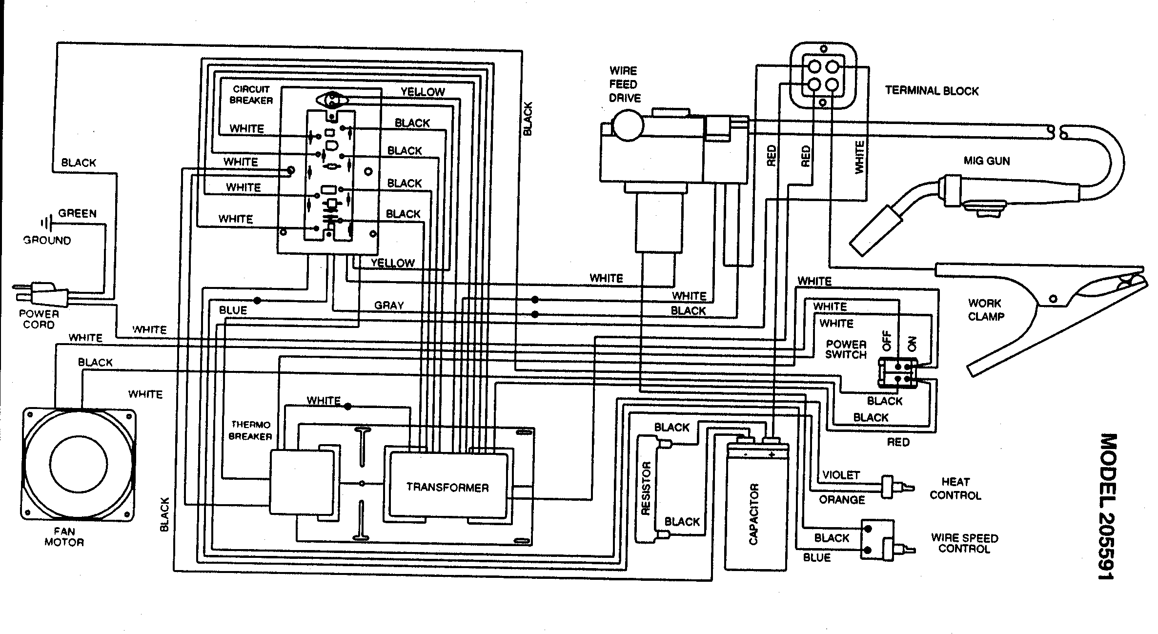 solar 2175 welder wiring diagrams sz 0143  wiring diagram diagram parts list for model 93420111  sz 0143  wiring diagram diagram parts