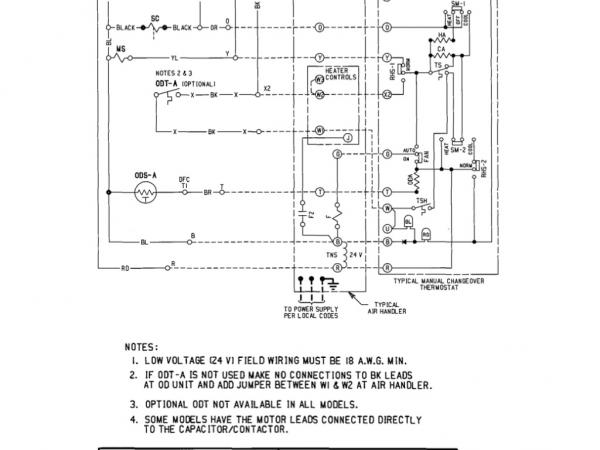 kb8721 here are the schematics for the trane air handler