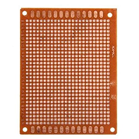 Marvelous Facilla Set 5Pcs Prototyping Pcb Circuit Board Stripboard 90X70Mm Wiring Cloud Rdonaheevemohammedshrineorg