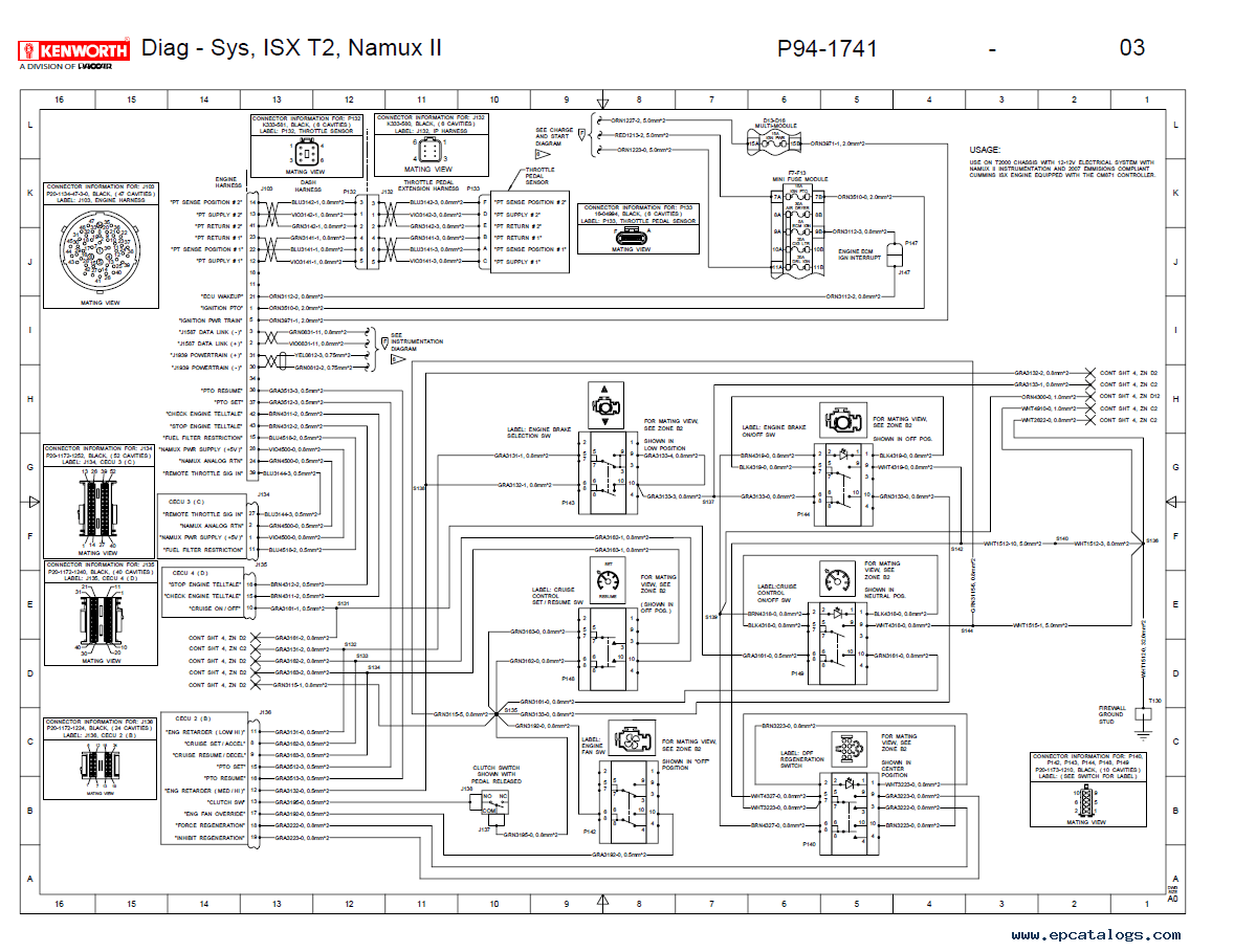 [DIAGRAM_1CA]  Kenworth Truck Wiring Schematics - Wiring Diagrams | Kenworth T300 Electrical Schematic |  | karox.fr