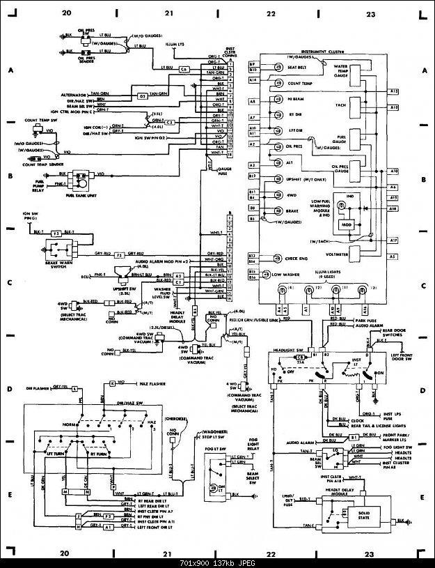 GG_2655] 89 Jeep Yj Wiring Diagram Wire Diagrams Of Dash Cluster Jeepforum  Download DiagramInrebe Trua Garna Tixat Mohammedshrine Librar Wiring 101