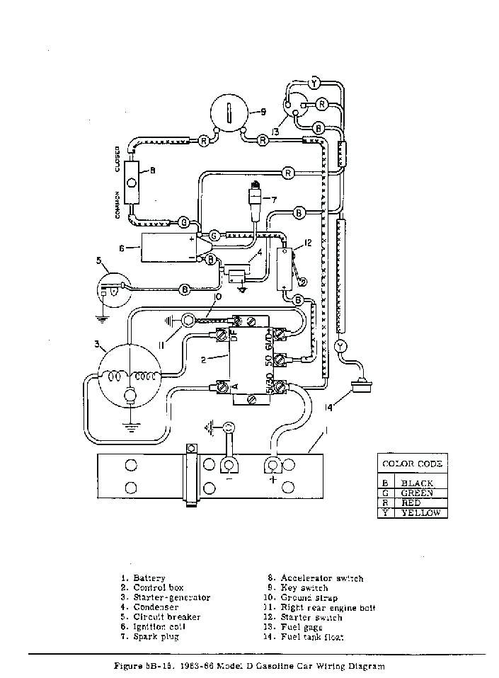 Ezgo Starter Generator Wiring Diagram