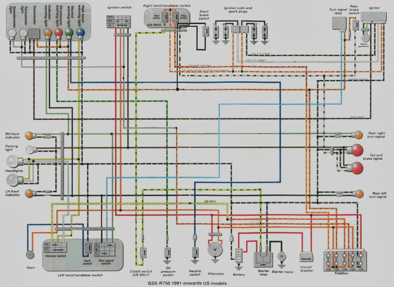 VC_1584] Suzuki Gn400 Motorcycle Complete Electrical Wiring Diagram All  About Schematic WiringHroni Barep Over Boapu Mohammedshrine Librar Wiring 101