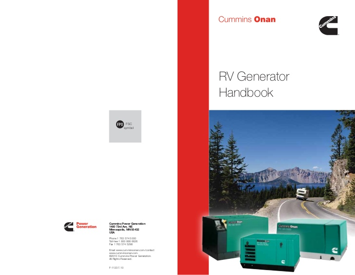 Terrific Rv Generators Handbook By Cummins Onan Wiring Cloud Filiciilluminateatxorg