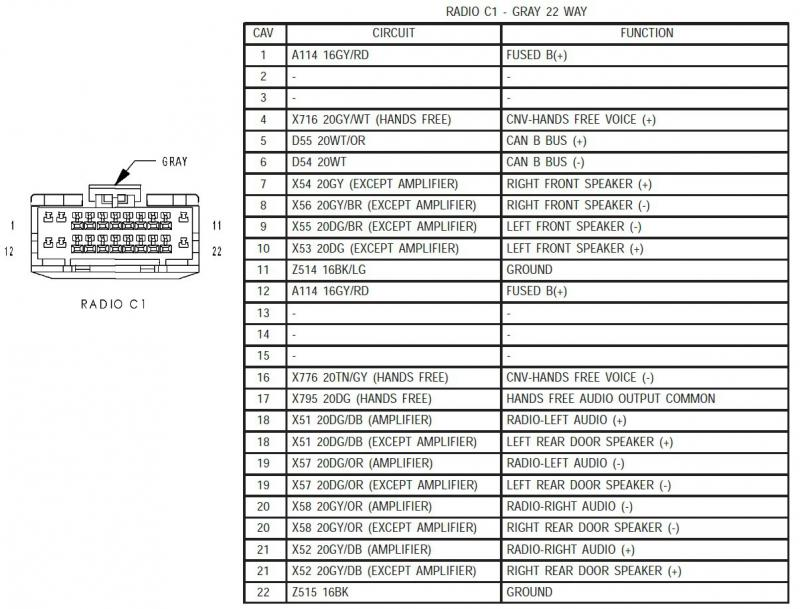 kenwood kdc bt555u wiring diagram model  2014 ram power