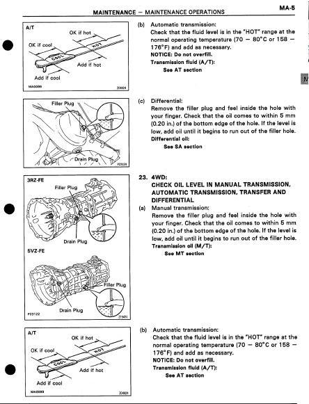 Incredible Toyota Tacoma 1996 Repair Manual Toyota Repair Workshop Manuals Wiring Cloud Lukepaidewilluminateatxorg