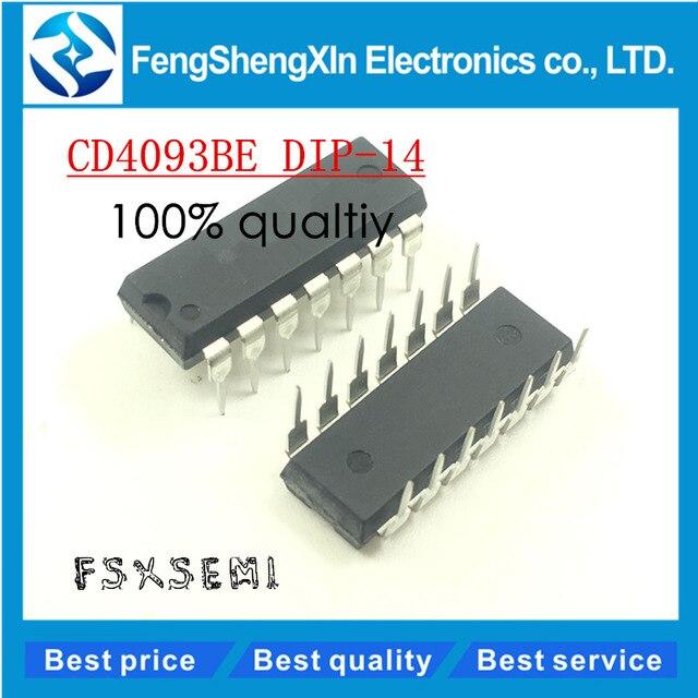 74HC132N 74HC132 High Speed CMOS Quad 2-input NAND Schmitt trigger DIP14
