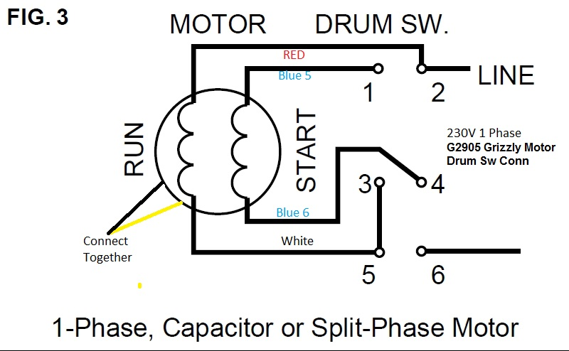 fl_0968] help on wiring a drum switch to a single phase 230v motor  motorcycle free diagram  puti terst reda cosm isra mohammedshrine librar wiring 101