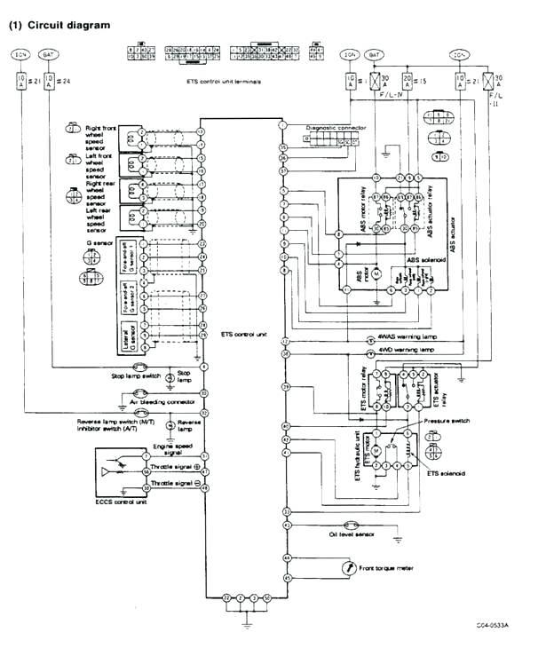 Nissan Color Codes Wiring Diagram Instruction Video 7 Plug Trailer Wiring Diagram For Wiring Diagram Schematics