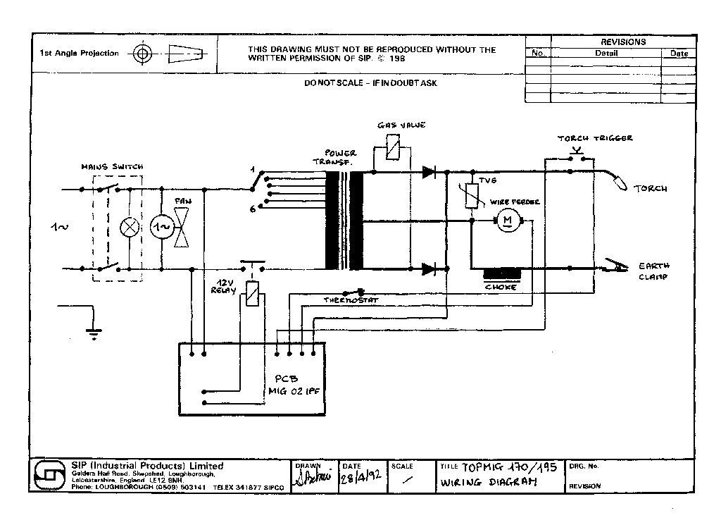 Ya205 Mig Welder Wiring Diagram