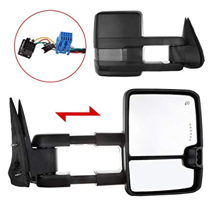 Incredible Amazon Com Towing Mirrors Exterior Accessories Mirrors For Chevy Wiring Cloud Gufailluminateatxorg