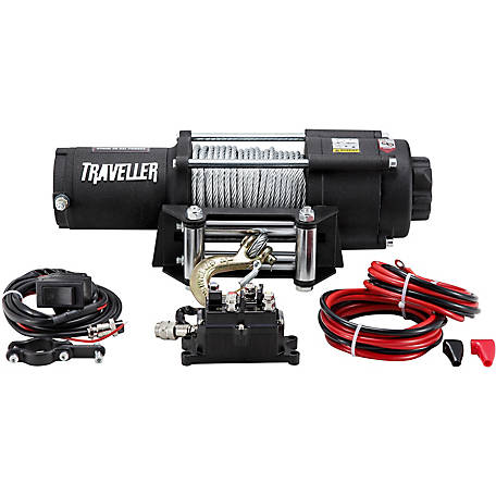 Prime Traveller 12V Utv Electric Winch 4 500 Lb Capacity At Tractor Supply Wiring Cloud Timewinrebemohammedshrineorg
