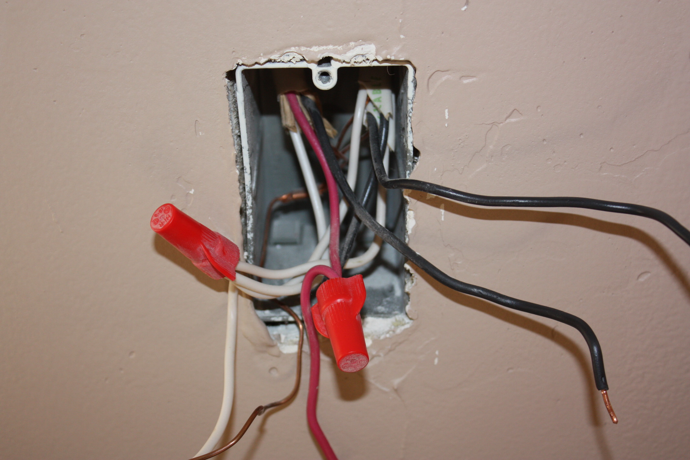 TM_2600] Wiring A Light Switch With 3 Red Wires Wiring DiagramLing Tivexi Mohammedshrine Librar Wiring 101