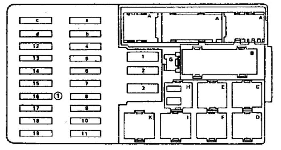Mm 9643  1984 Mercedes 380sl Fuse Box Free Diagram
