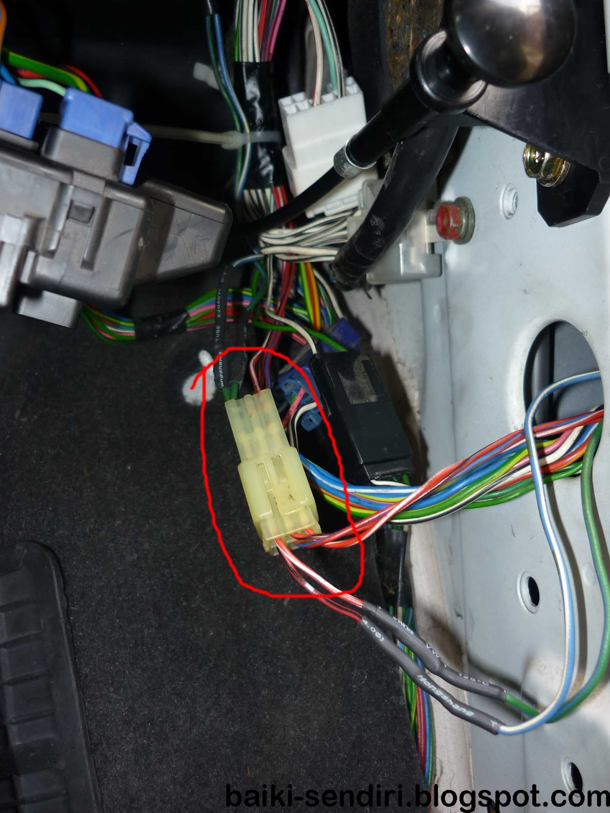 L5 Side Mirror Wiring Diagram