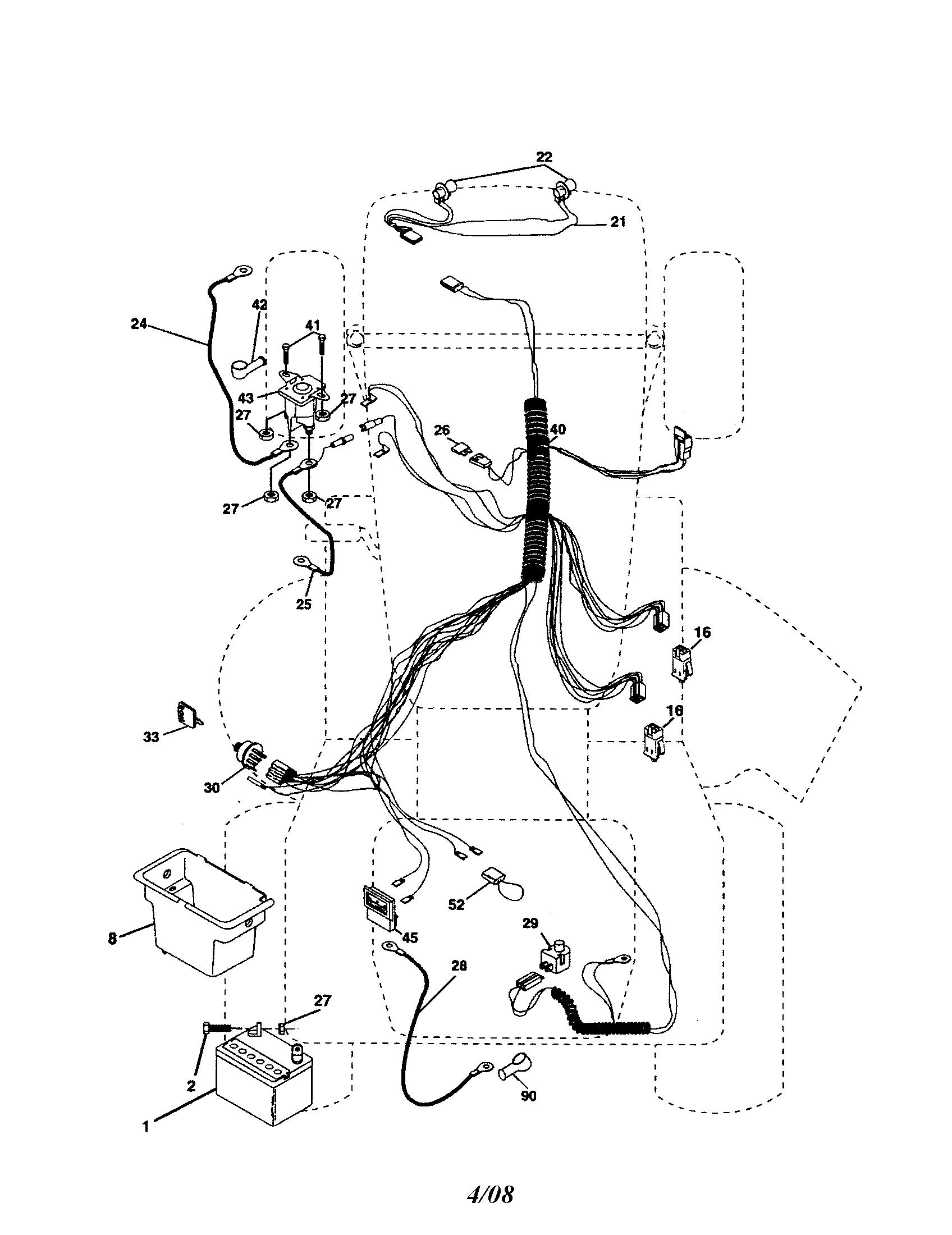 [WLLP_2054]    | Poulan Pro Riding Mower Wiring Diagram |  |