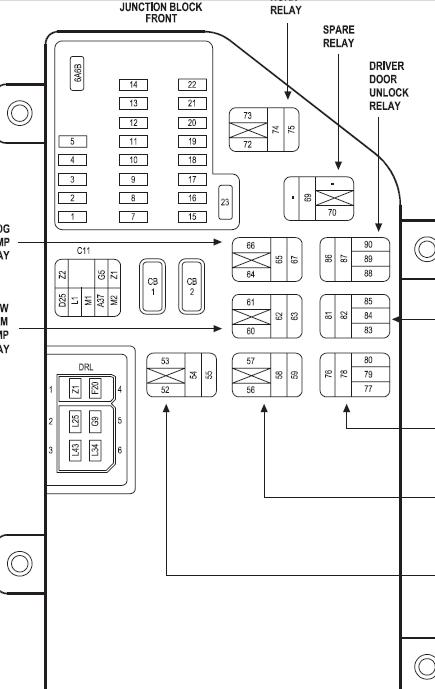 Oa 3766 2000 Chrysler 300 Fuse Box Wiring Diagram