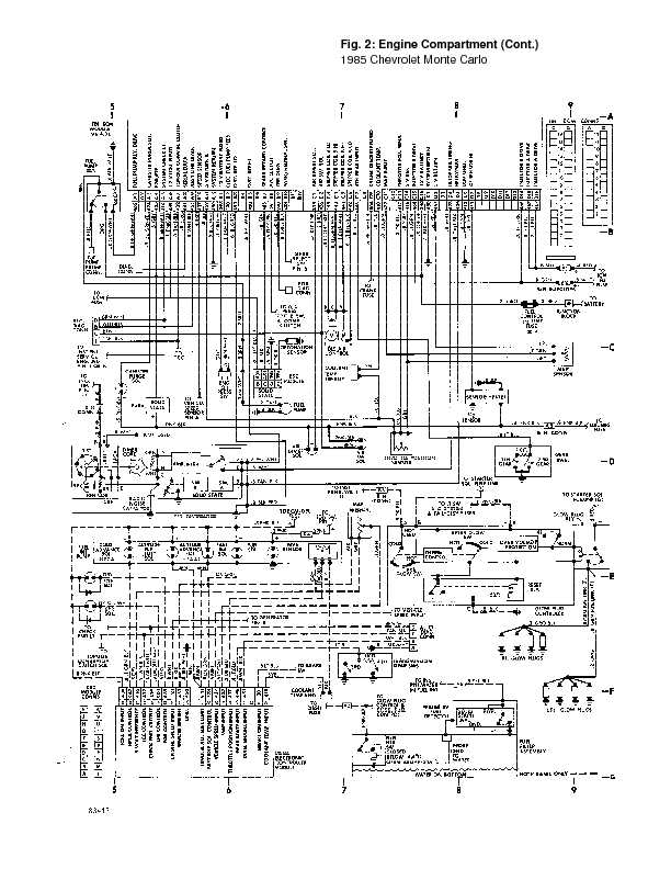 1987 monte carlo ss wiring diagram nt 9931  1985 monte carlo engine diagram free diagram  1985 monte carlo engine diagram free