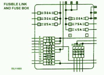 Hc 1344 Infiniti J30 Fuse Box Diagram On 1995 Infiniti J30 Fuse Box Diagram