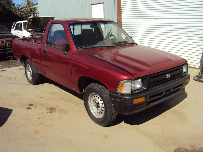 Amazing 1992 Toyota Pick Up Regular Cab Standard Model 2 4L Efi Mt 2Wd Color Wiring Cloud Hisonepsysticxongrecoveryedborg
