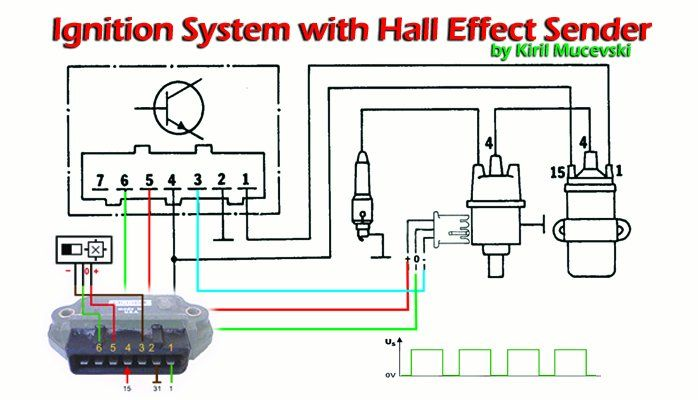 Cool Bosch Ignition System With Hall Effect Sender In This Short Wiring Cloud Grayisramohammedshrineorg
