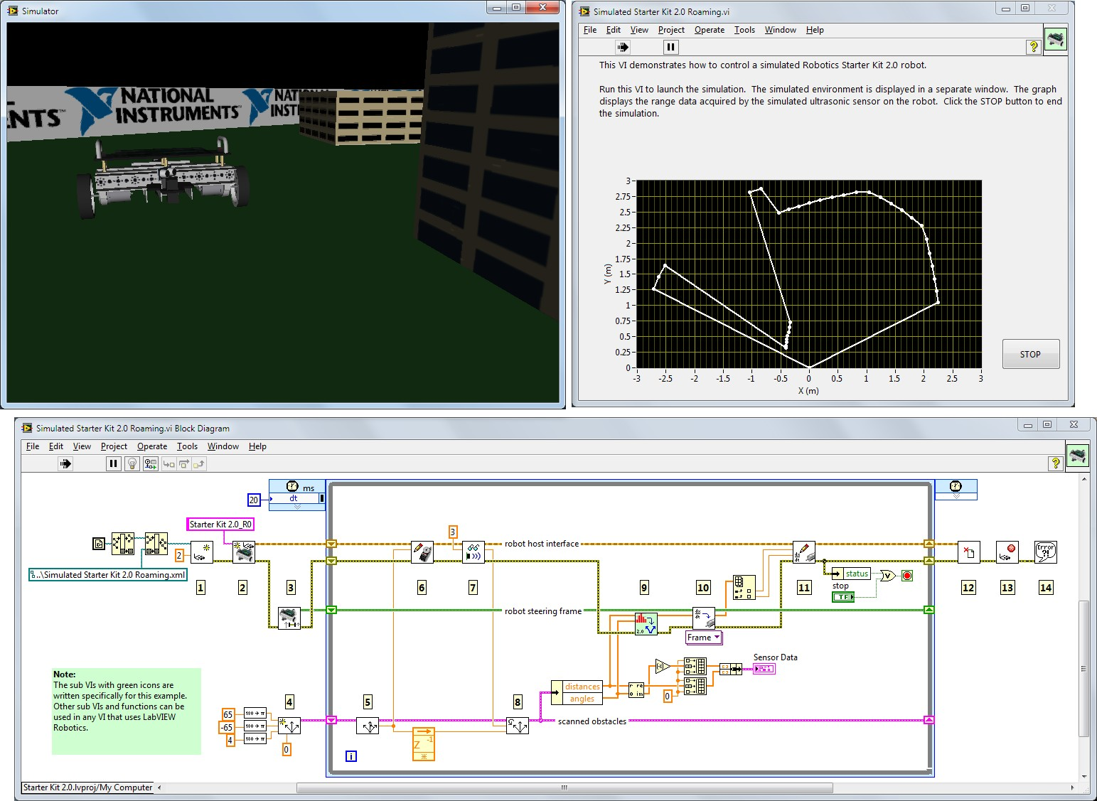 Admirable Overview Of The Labview Robotics Module National Instruments Wiring Cloud Lukepaidewilluminateatxorg