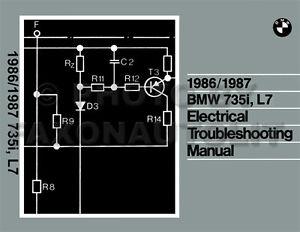 Prime 1986 1987 Bmw 735I And L7 Electrical Troubleshooting Manual Wiring Wiring Cloud Inklaidewilluminateatxorg