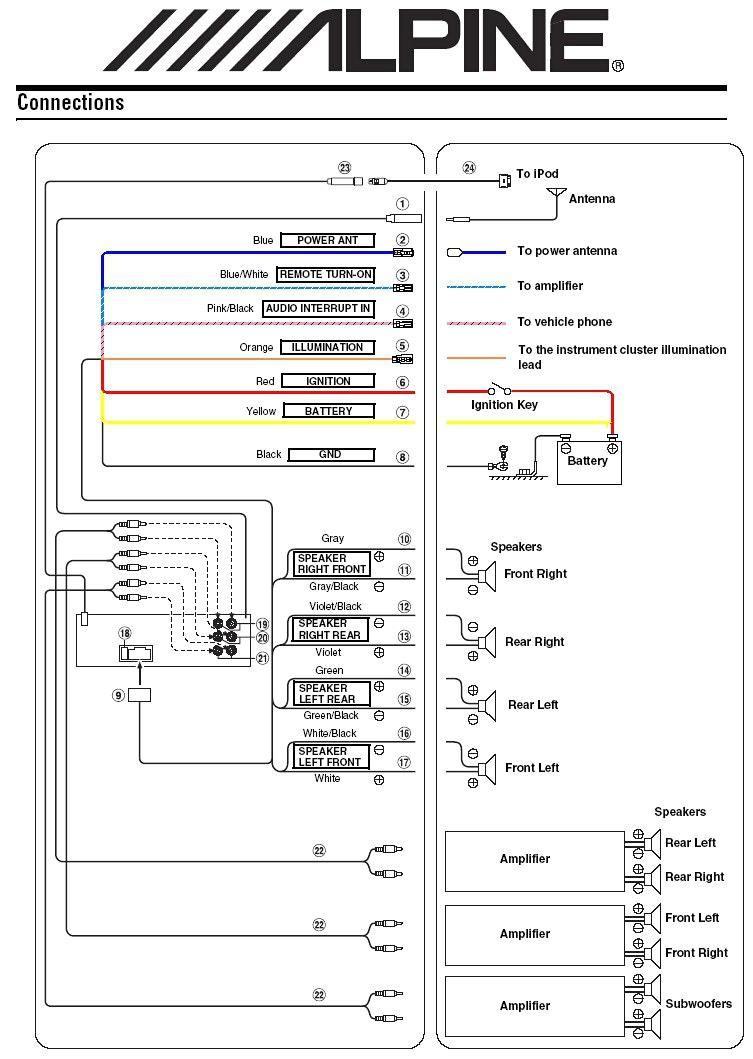 [ZTBE_9966]  EB_0040] As Well Alpine Type R Additionally 4 Ohm Subwoofer Wiring Diagram  Schematic Wiring | Alpine Wire Diagram For Deck |  | Bupi Carn Emba Mohammedshrine Librar Wiring 101