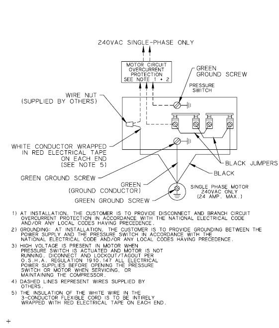Quincy Air Compressor Wiring Diagram