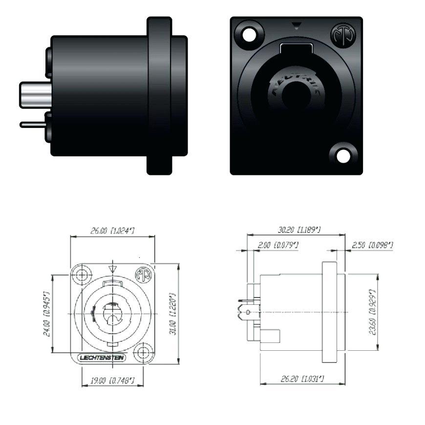 fz2826 speakon to 1 4 wiring diagram download diagram