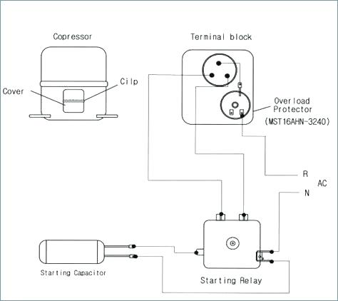 refrigerator wiring diagram compressor zx 5841  compressor start relay diagram all image about wiring refrigerator compressor starter wiring diagram zx 5841  compressor start relay diagram
