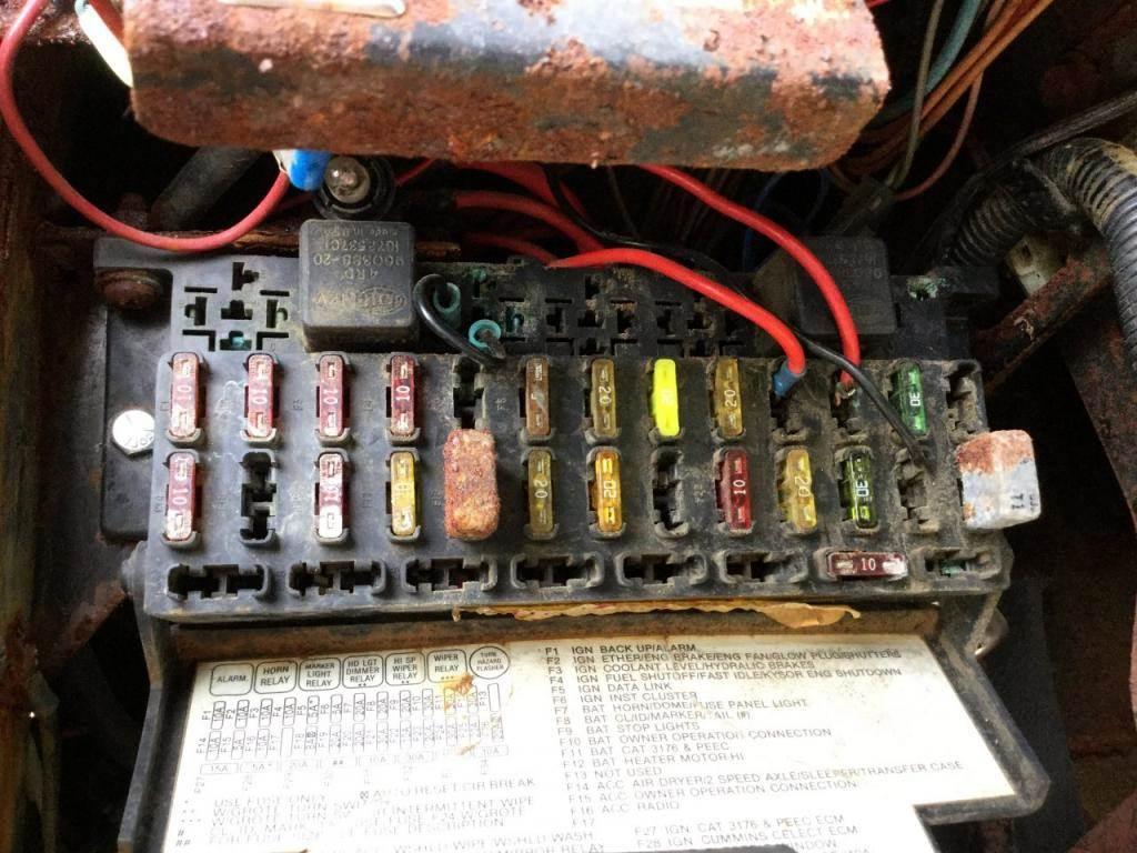 International Truck Fuse Box Diagram - 1982 Ford Bronco Wiring for Wiring  Diagram SchematicsWiring Diagram Schematics