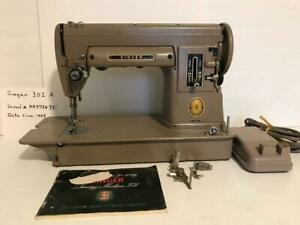 Peachy Singer 301 Sewing Machine Tan Featherweight Sister Loaded W Wiring Cloud Xortanetembamohammedshrineorg