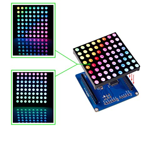 Outstanding Amazon Com Sunfounder Full Color Rgb Led Matrix Driver Shield Rgb Wiring Cloud Filiciilluminateatxorg