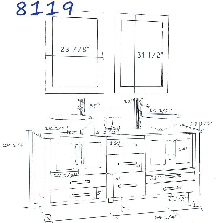 Bathroom Double Sink Plumbing Diagrams