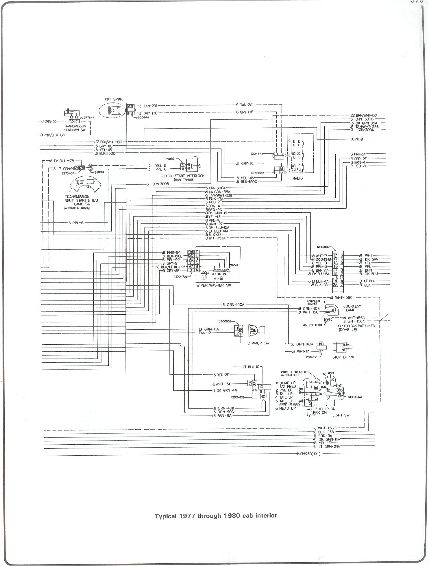 77 Chevy K10 Wiring Diagram