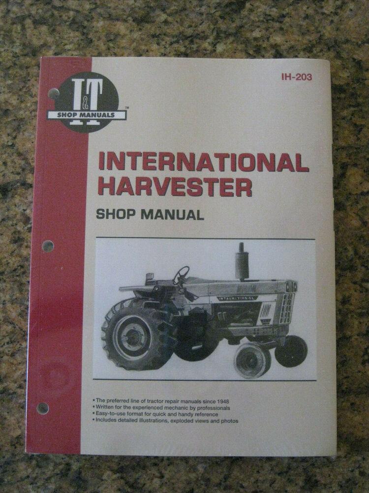 Amazing Shop Manual It Ih 203 For International Harvester 766 1066 1086 966 Wiring Cloud Picalendutblikvittorg